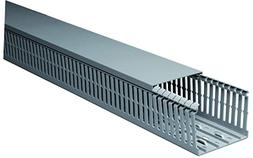 """1 Set of 1""""x2""""x2m Gray High Density Premium Wiring Duct and"""