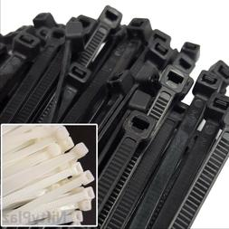 NiftyPlaza 10 Inch Cable Ties - 100 Pack Heavy Duty 75 LBS N