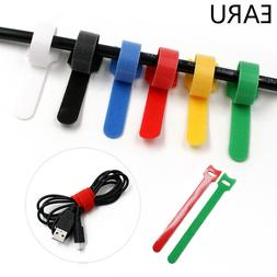 10 Pieces 6 Inch Reusable Nylon Cable Zip Ties Wrap