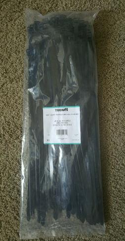 100 Panduit 22 inch cable zip support ties heavy duty 1/2 in