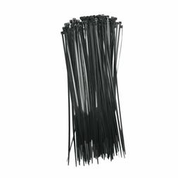 """100 pcs BLACK Cable Ties 12"""" inch 40lbs, Fantastic Quality,"""