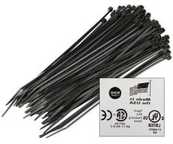 1000 pieces black 4 industrial wire cable