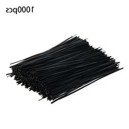 1000Pcs Cable Ties Zip Tie-Wrap Fasten Wire Cord Bolt Droppe