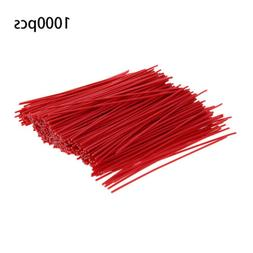1000Pcs Cable Ties Zip Tie-Wrap Round Fasten Wire Cord Bolt