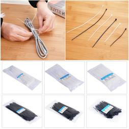 100pc black strong cable ties wraps zip