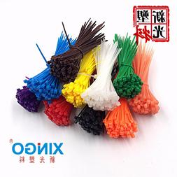100pcs/bag 8 Color 2.5mmx100mm 2.5mm*100mm Self-Locking Nylo