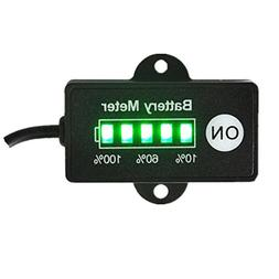 Best Gold Supplier 12V Battery Meter Lead-Acid Battery Indic