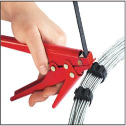 2.4-9mm Heavy Duty Cable Zip Ties Automatic Tension Cutoff G