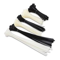 Cable Matters  200 Reusable 6+8+12-Inch Nylon Cable Ties in