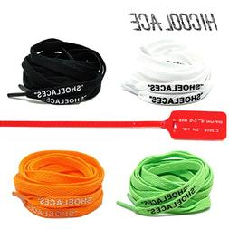 "2019 New 47""/55""/63"" ""SHOELACES"" Silicone Printing Shoelaces"