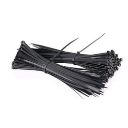 3mm 4MM 5MM 8MM 9mm Black Nylon Cable Ties / Zip Ties For Fa