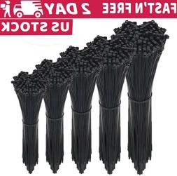 4'' 6'' 8'' 12 inch Nylon Cable Zip Ties Self-Locking Heat U