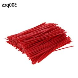 "500Pcs 4"" Cable Ties Zip Tie-Wrap Fasten Wire Cord Bolt Drop"