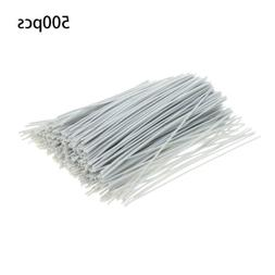 500Pcs Cable Ties Zip Tie-Wrap Fasten Wire Cord Bolt Dropper