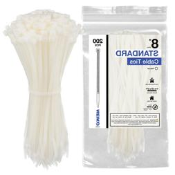 51254a natural white cable zip ties 200