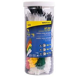 Calterm 71110 4 in, 8 in, 11 in. Assorted Nylon Cable Tie, B