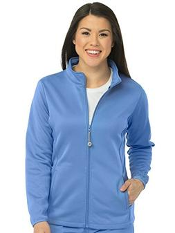 Med Couture 8684 Women's Activate Med Tech Zip Front Solid S