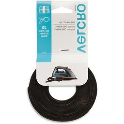 91141 Velcro Reusable Self-Gripping Cable Ties - Tie - Black