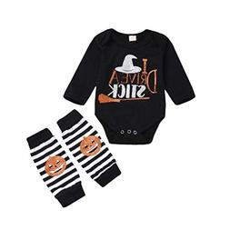 Baby Halloween Outfits,Leegor Toddler Child Girls Boys Lette
