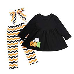 Baby Halloween Outfits,Leegor Toddler Infant Girls Letter Gh