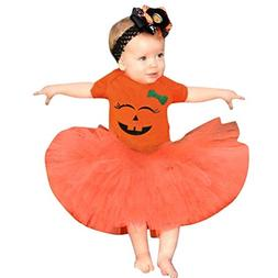 Baby Halloween Outfits,Leegor Toddler Newborn Girls Cartoon