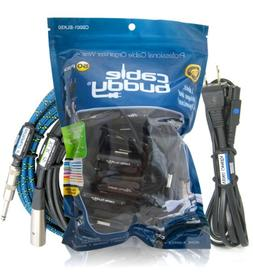 Cable Buddy® 50-pack, Black - Cable Organizer Ties with Col