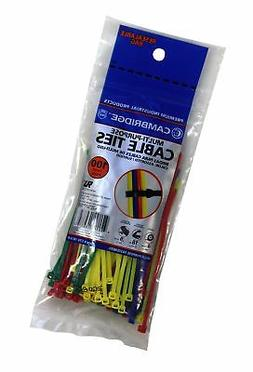 "Cambridge Cable Ties 4"" 18 Lbs 100 pcs, Mini/Lightweight Dut"