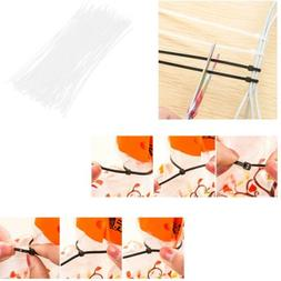 About 100Pcs/Bag Self-Locking Nylon Wire Cable Zip Cable Tie