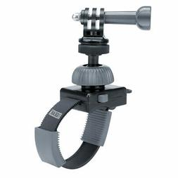 Action Camera Zip Mount with Zip-Tie Style Strap and 360 Deg