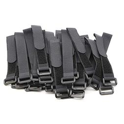 Pasow Adjustable Cable Ties Organizer Fastener with Plastic