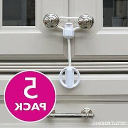 Kiscords Baby Safety Cabinet Locks for Knobs Child Safety Ca