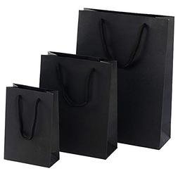 Bags With - Gift Paper Bag With Handle Black 15 7 21cm - Tip