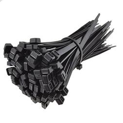 Kenable Black Cable Ties 180mm x 6.8mm Nylon 66 UL Approved