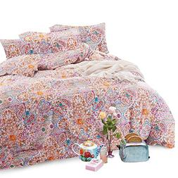 Wake In Cloud - Bohemian Duvet Cover Set, 100% Cotton Beddin
