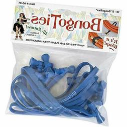 BongoTies ALL BLUE A5-01-B 10 Pack Handy Cables Other Unruly