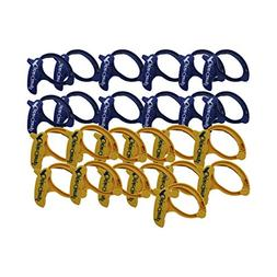 Cable Clamp Display Case Large Blue/Yellow Assortment Cable