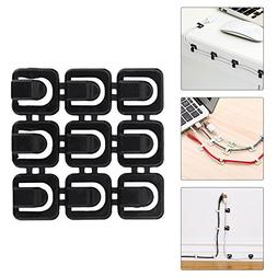 Cable Clips Adhesive Cable Management Zip Tie for Wall Desk