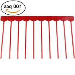 Ogrmar 100pcs Cable Label Mark Tag/Ethernet Wire Zip Ties Ca