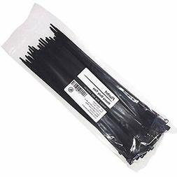 Cable Ties 12 Inch, Zip With 50 Pounds Tensile Strength, 100