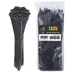 """Cable Ties, 8"""" Nylon Zip Cable Ties, 0.2''width, Large 50 LB"""