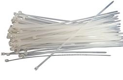 14 Inch Cable Ties, 50 LBS Nylon Wrap Zip Ties, UV Weather R