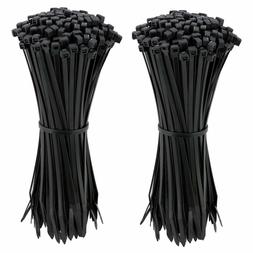Cable Zip Ties 4 Inch, Ultra Strong Plastic Wire Ties, 200 P