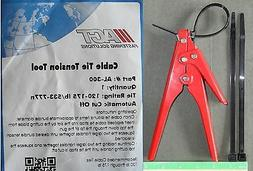 Cable Zip Ties Automatic Tension Cut Off Tool for 120lb - 17