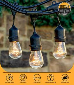Austin Light Co. Outdoor Commercial String Globe Lights with