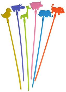 Creative Solutions CS-NTA Animals Novelty Cable Tie, Craft,