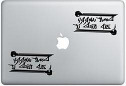 Dont Worry I Zip Tie Jdm Funny ArcDecals78600447 Set Of Two