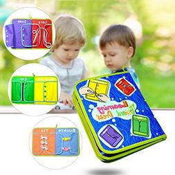 Pueri Baby Dress Board Teaching Books Early Learning Basic L