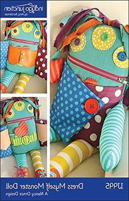 Indygo Junction Dress Myself Monster Doll Sewing Pattern