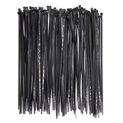 100pack Extra Heavy Duty 12 inch Standard Black Cable Ties I