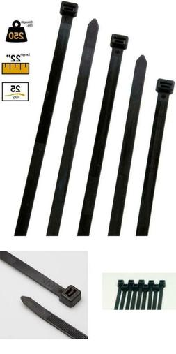 Buycableties Extra Heavy Duty Cable Ties - 250 Lb Rated